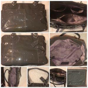 Coach -Grey Patent Leather Signature K1149-F17728